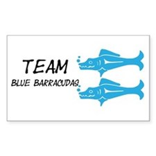 Blue Barracudas, Team Barracudas Decal