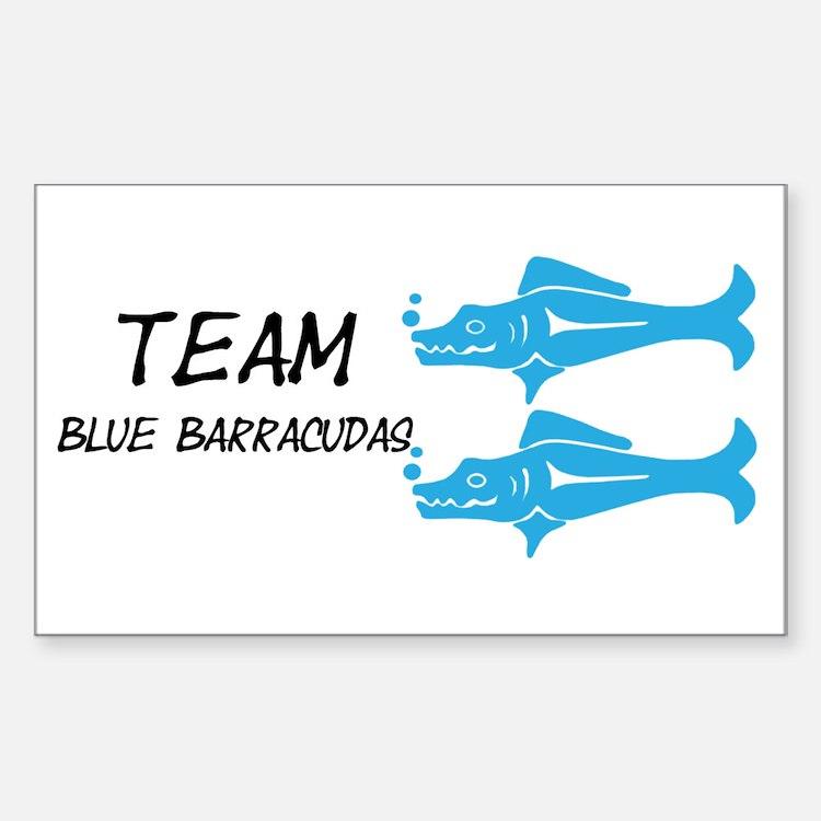 Blue Barracudas, Team Barracudas Decal