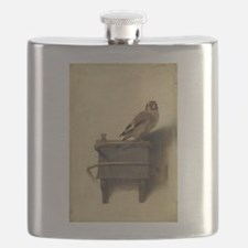 Carel Fabritius The Goldfinch Flask