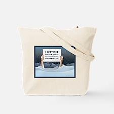 Alaska Record Snow Tote Bag