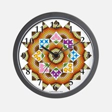 Blazing Star Wall Clock