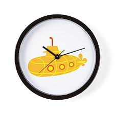 Submarine boat Wall Clock