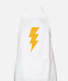 Yellow Flash Lightning Bolt Apron