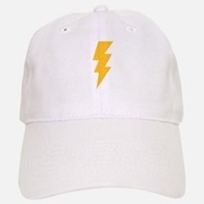 Yellow Flash Lightning Bolt Baseball Baseball Cap