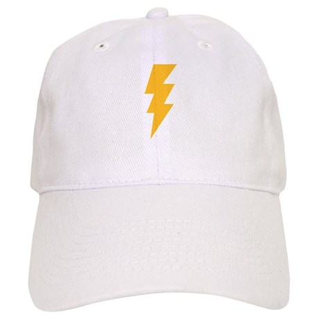 Yellow Flash Lightning Bolt Cap