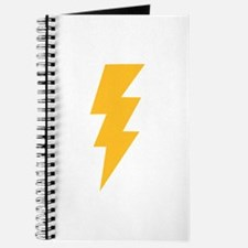 Yellow Flash Lightning Bolt Journal