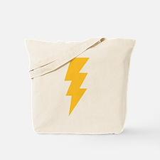 Yellow Flash Lightning Bolt Tote Bag