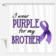 Wear Purple - Brother Shower Curtain