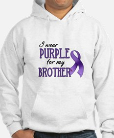 Wear Purple - Brother Hoodie