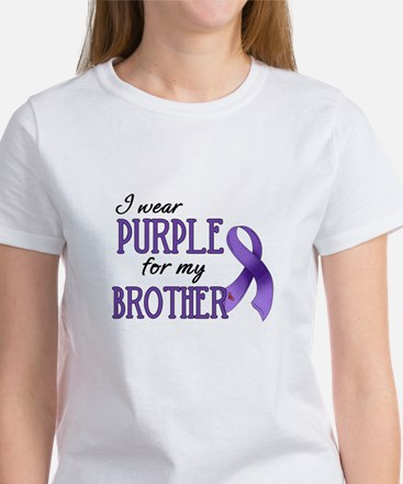 Wear Purple - Brother Women's T-Shirt