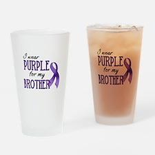 Wear Purple - Brother Drinking Glass