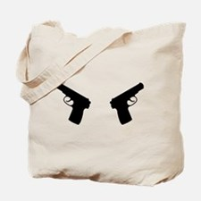 Guns weapon Tote Bag