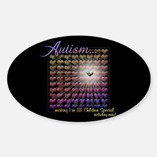Autism - 1 in 88 Special Decal