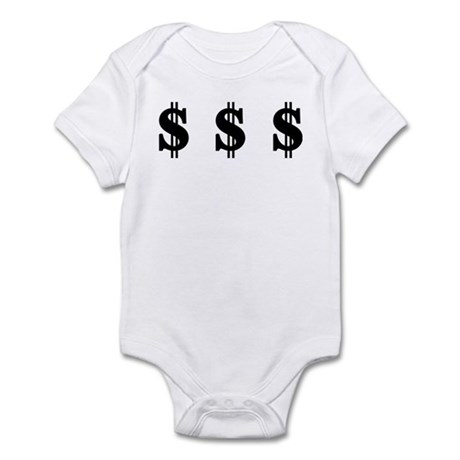 Dollar signs Infant Bodysuit
