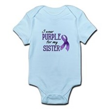 Wear Purple - Sister Infant Bodysuit