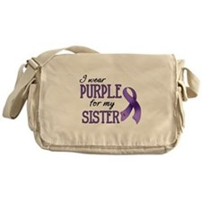 Wear Purple - Sister Messenger Bag