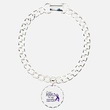Wear Purple - Sister Bracelet
