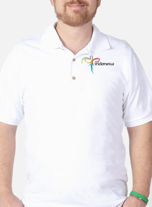 Visit Indonesia Golf Shirt