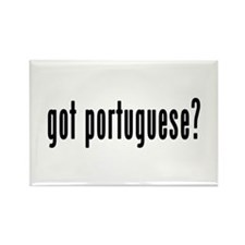 GOT PORTUGUESE Rectangle Magnet