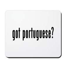 GOT PORTUGUESE Mousepad