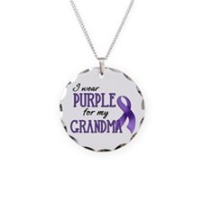 Wear Purple - Grandma Necklace