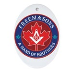 Canadian Band of Brothers Ornament (Oval)