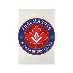 Canadian Band of Brothers Rectangle Magnet