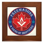 Canadian Band of Brothers Framed Tile