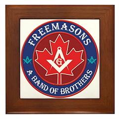 Canadian Band of Brothers Framed Tile
