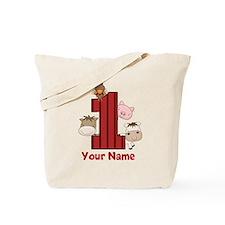 1st Birthday Farm Tote Bag