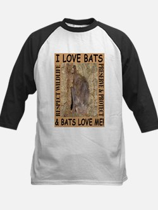 I Love Bats & Bats Love Me Tee