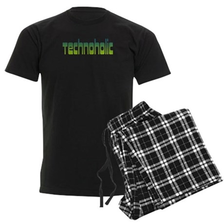 Technoholic Men's Dark Pajamas