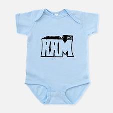 RAM Graffiti Infant Bodysuit