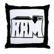 RAM Graffiti Throw Pillow