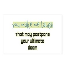 You make me laugh Postcards (Package of 8)