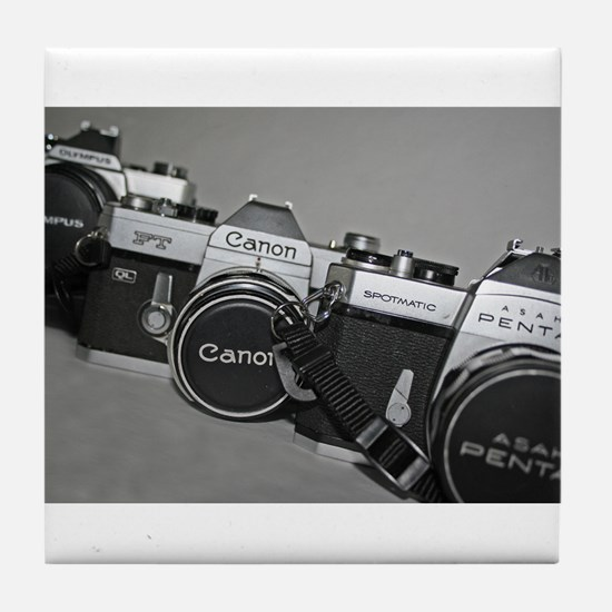 Cute Pentax Tile Coaster