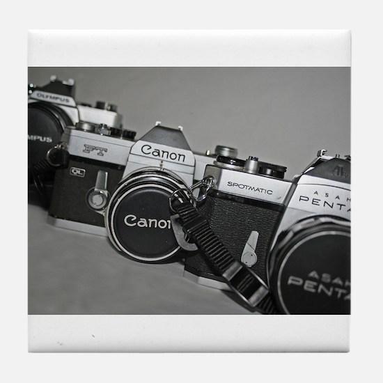 Funny Camera Tile Coaster
