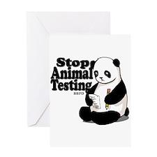 Stop Animal Testing Greeting Card
