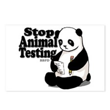 Stop Animal Testing Postcards (Package of 8)
