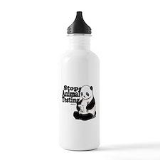 Stop Animal Testing Sports Water Bottle