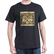 Antique Map T-Shirt
