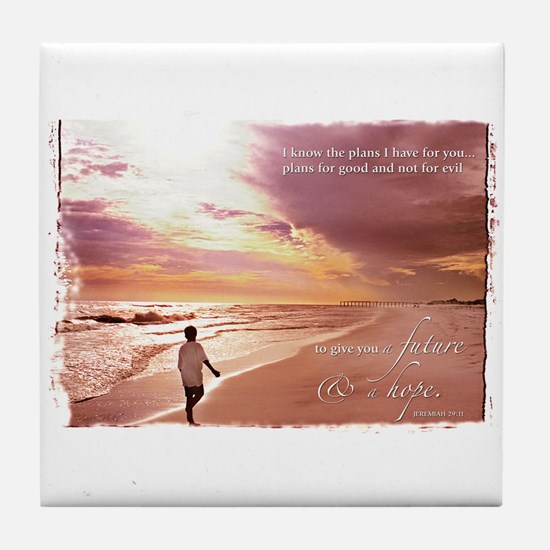 Hope's Horizon Tile Coaster