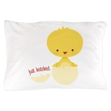 Just Hatched Chicken Pillow Case