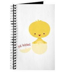Just Hatched Chicken Journal