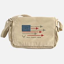 USAF Fly Fight Win Messenger Bag