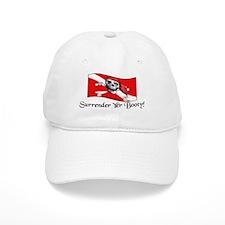 Surrender Yer Booty Baseball Cap