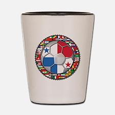 Panama Flag World Cup No Labe Shot Glass