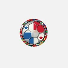 Panama Flag World Cup No Labe Mini Button