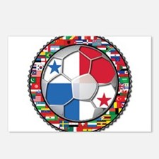 Panama Flag World Cup No Labe Postcards (Package o