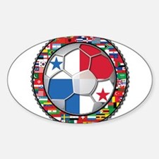 Panama Flag World Cup No Labe Decal